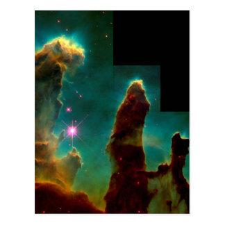 Pillars of Creation - Hubble Space Telescope Image Postcard