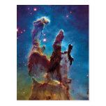 Pillars of Creation M16 Eagle Nebula Postcard