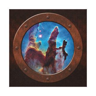 Pillars of Creation M16 Eagle Nebula Stretched Canvas Print
