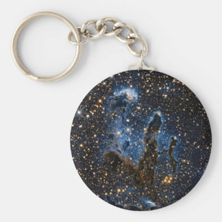 Pillars Of Creation Near-Infrared Basic Round Button Key Ring