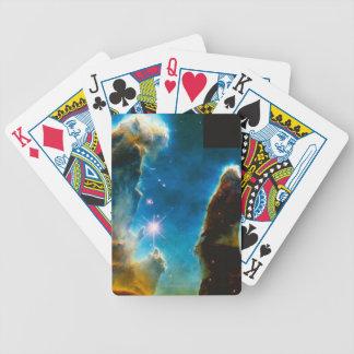 Pillars of Gas Bicycle Playing Cards