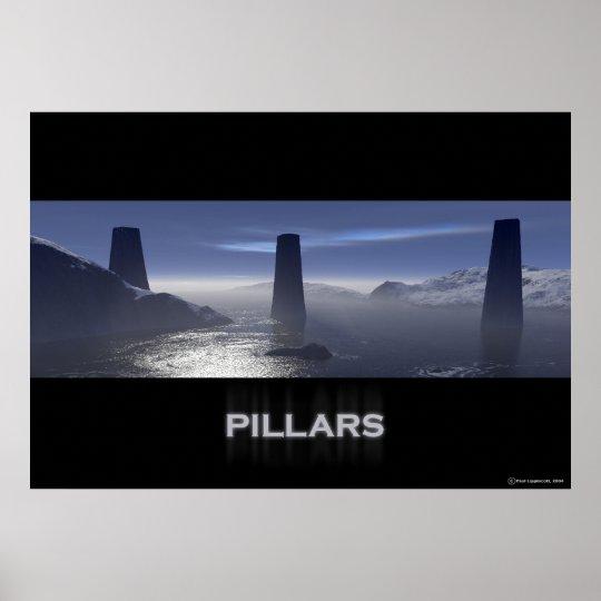 Pillars Poster
