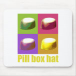 pillbox hat mousemat