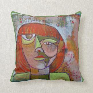 Pillow abstract art design