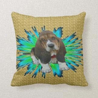 Pillow Baby Basset Hound Sheldon Cushion