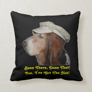 Pillow Basset Hound Been There Done That Cushions