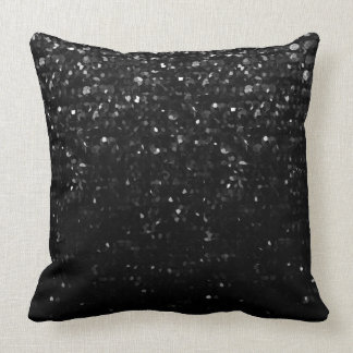 Pillow Black Crystal Bling Strass