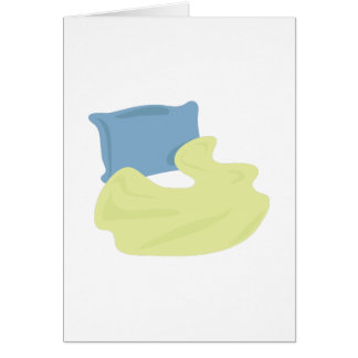Pillow & Blanket Greeting Card