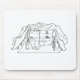 Pillow/Blanket Fort Mousepad