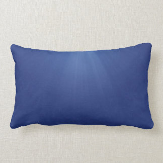Pillow blue rays