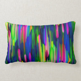 Pillow Colorful digital art splashing G256