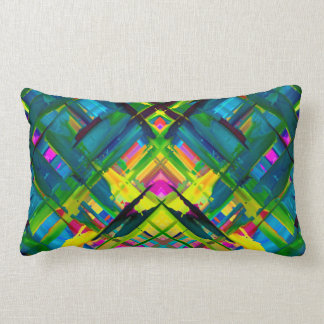Pillow Colorful digital art splashing G467