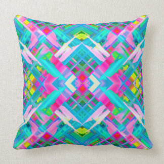 Pillow Colorful digital art splashing G481