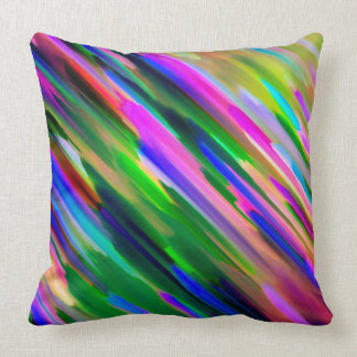 Pillow Colorful digital art splashing G487
