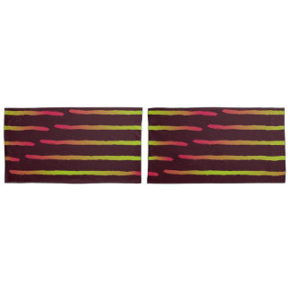 Pillow Covers - Painted Lines Design