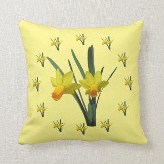 Pillow - Daffodil Blossoms Cushion