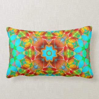 Pillow Floral Fractal Art G410