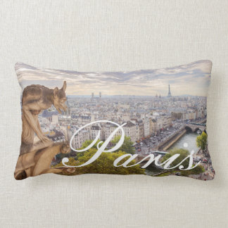 Pillow | Gargoyle & Eiffel Tower View | Paris