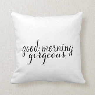 Pillow | His - Good Morning (Style 2)