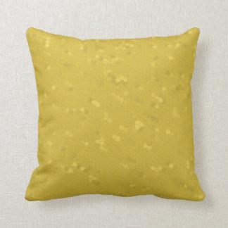 Pillow in Freesia Yellow Mosaic Cushions