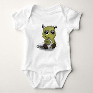 Pillow Monster Digital Art Baby Bodysuit