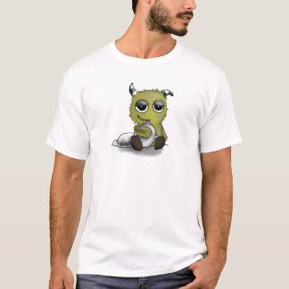 Pillow Monster Digital Art T-Shirt