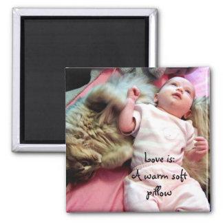 Pillow soft Magnet