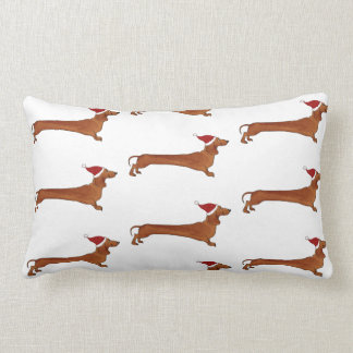 Pillow with dachshund