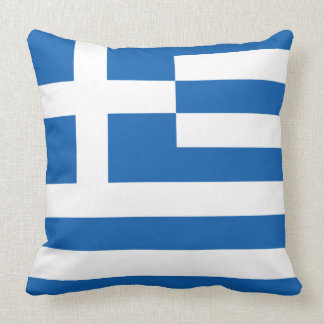 Pillow with flag of Greece