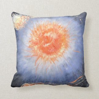 Pillow with turtle wondering in a galaxy