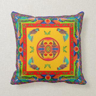 Pillowcase Inspired by Truck Art - 5 Throw Pillow