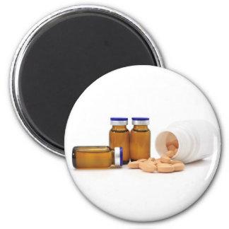 pills and medicine bottles fridge magnets