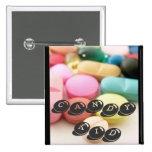 pills, CANDY KID Buttons