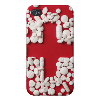 Pills Cross Cover For iPhone 4
