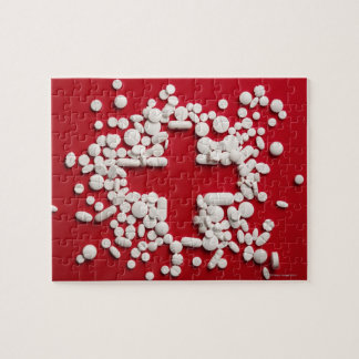Pills Cross Jigsaw Puzzle