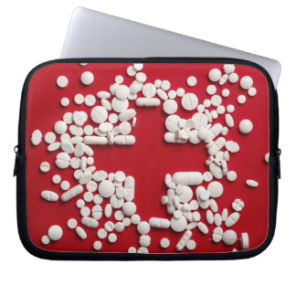 Pills Cross Laptop Sleeve