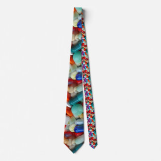pills drugs tie