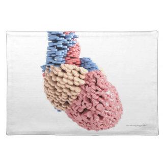 Pills Heart Placemat