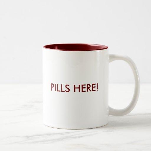 Pills here! mugs