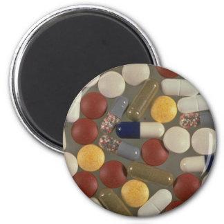 Pills Fridge Magnets