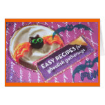 Pillsbury Cookie Scary Bat Collage Cards