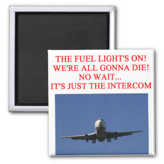 PILOT airline joke Fridge Magnets