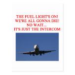 PILOT airline joke Post Card