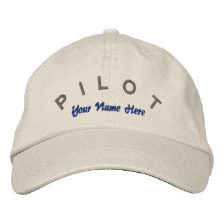 Pilot Aviator Custom Hat Embroidered Baseball Caps