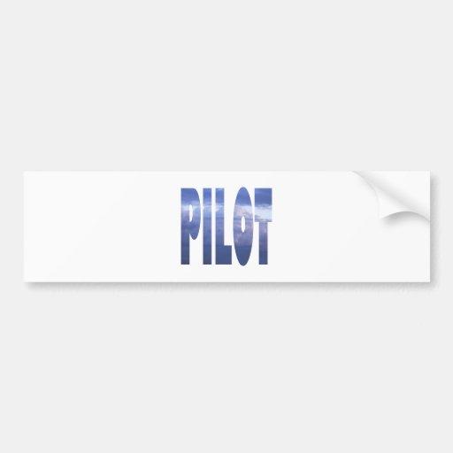 pilot bumper stickers