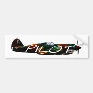 Pilot Bumpersticker Bumper Sticker