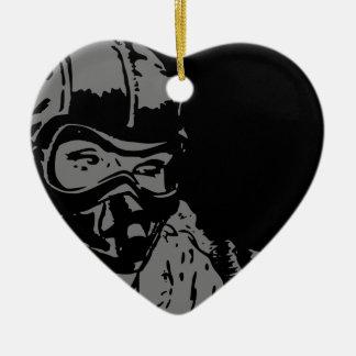 Pilot Ceramic Heart Decoration