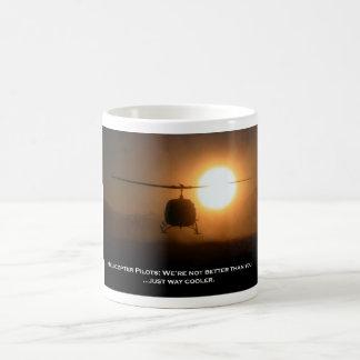Pilot Cooler Helicopter Basic White Mug