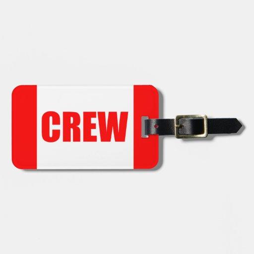 Pilot Crew Tag (CUSTOMIZABLE) Bag Tag