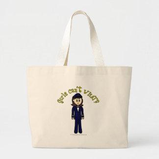 Pilot Girl Large Tote Bag